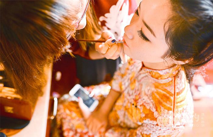 天津中式婚礼策划案例_钟爱一生