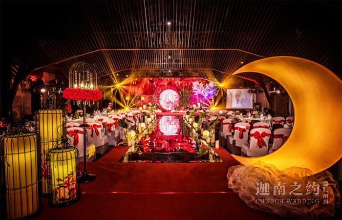 天津中式主题婚礼策划案例_荷塘月色
